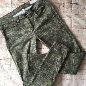 rag & bone Kaki Skinny Jean